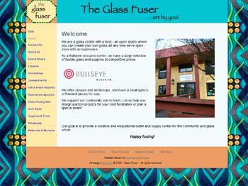 Glass Fuser Homepage image